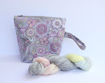 Hummingbird Love Project bag Sock Yarn kit