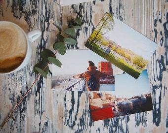 3 Postcards set from Vilnius