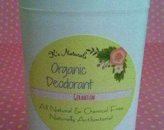 Organic All Natural Clay Deodorant-No Baking Soda-Detoxifying - 2.65 oz-For Men & Women