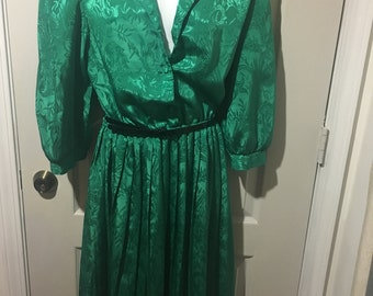 Alexis Fashion Inc. Green Dress. Size 9-10