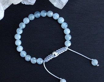 Pale Beauty Blue Bracelet