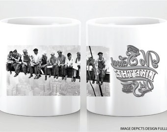 There's no school like the old school- custom ceramic mug. Great for any occasion! !!!!