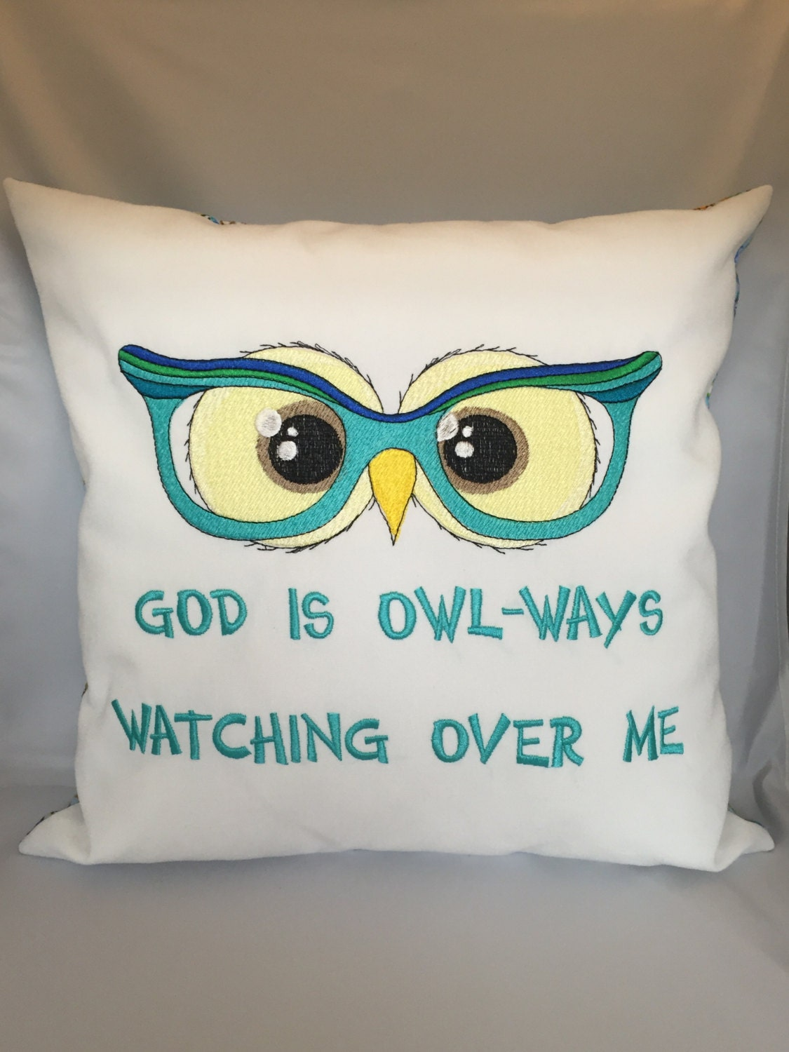 Owl Throw Pillow Etsy : Owl-ways Throw Pillow