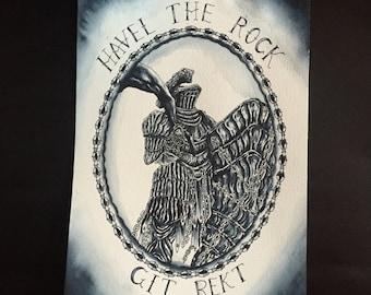 Dark souls Havel The Rock