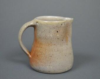 Small jug, wood fired stoneware