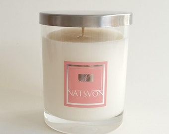 Soy Candle - Chamomile & Grapefruit - Handmade candle
