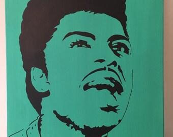 Little Richard 16x20 acrylic on canvas