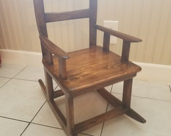 Miniture Childrens Rocking Chair