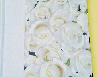 Rose Journal 4.5x5.5 White