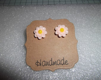 Funky Daisy Flower Stud Earrings