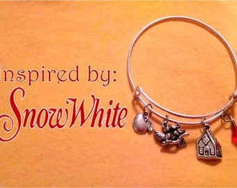 Snow White Inspired Bracelet