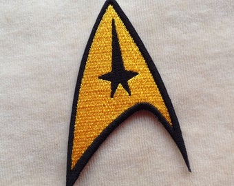 Star Trek Command Logo Iron On Patch
