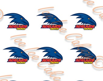 Adelaide crows etsy adelaide crows cupcake toppers prinsesfo Images