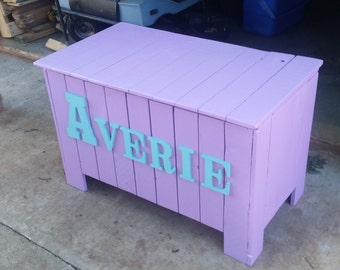 wood toy boxes
