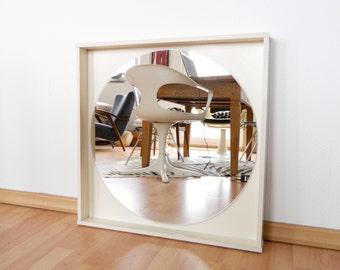 70s mirror, mirror vintage, 70s, wardrobe mirror, mirror, wall mirror