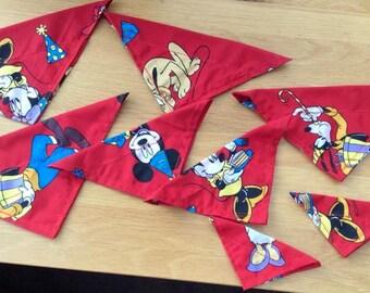 Red Disney dog bandana
