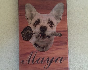 Photo engraved cell phone case