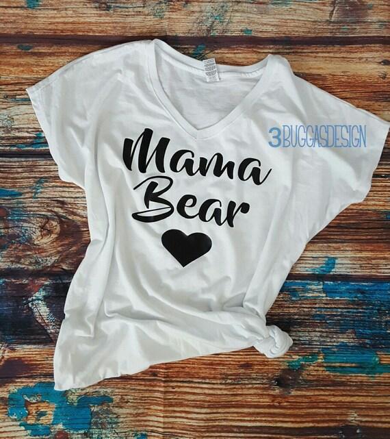 Mama Bear shirt/mom life/preggers/mama bear/mom life is the best/mom boss shirt/raising my tribe/baby shower gift/motherhood