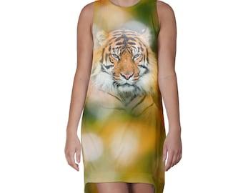 Bokeh Tiger Dress