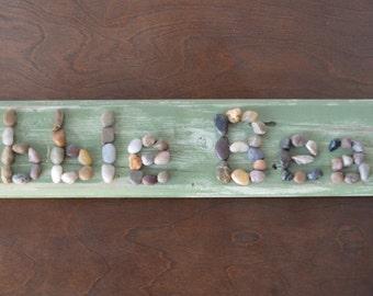 Pebble Beach Golf Wooden Sign
