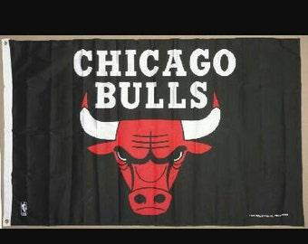 3x5 Chicago Bulls Flag Banner