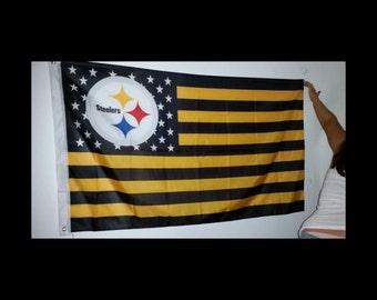 3x5 Pittsburgh Steelers Flag