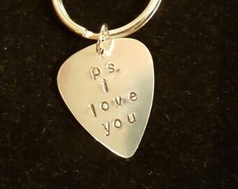 PS I love you keychain