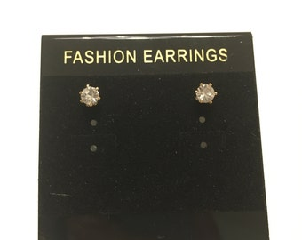 Stunning Gold Stud Earring