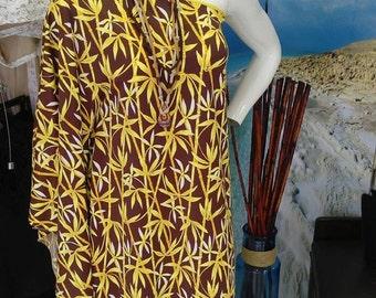 Bamboo Shoulder Dress