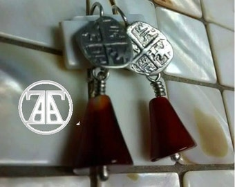 silver 9.25 an agate pendant