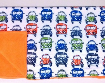 Baby Boys/Toddlers Old Cars Blanket