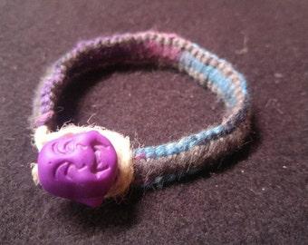 Organic Hemp Buddha Bracelet
