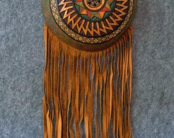 Fine Carved Gourd Mandala
