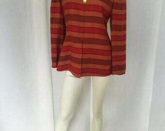 Vintage 80's Red & Orange Jacket