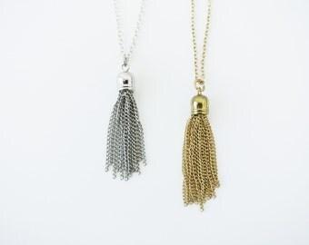 Tassel Chain Necklace