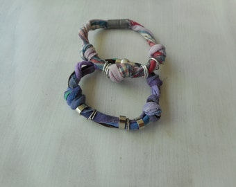sewing woman bracelet
