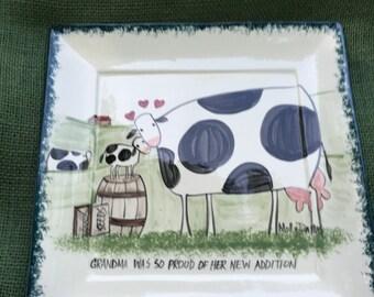 Molly Dallas Spatterware - Molly's Cows