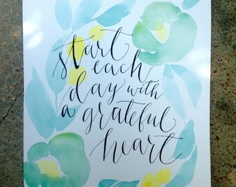 Grateful Heart Painting