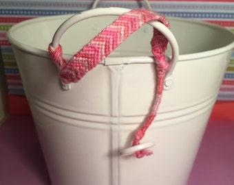 Pink Chevron Bracelets
