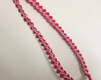 Made to Order Braided Ribbon Lei (long)
