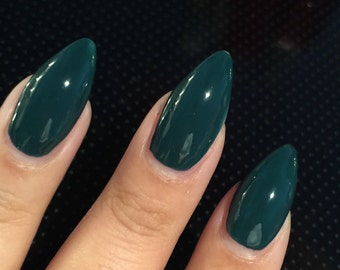 Mrs Foo Nail Polish - Zoisite Army Green