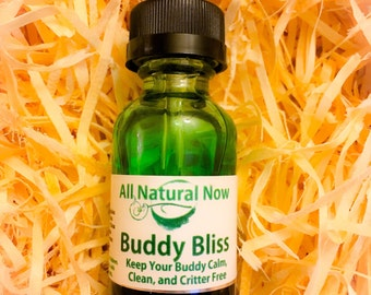 Buddy Bliss for Pet Lovers!/100% Pure & Therapeutic Essential Oils/Deodorize/Keep Away Pesky Critters