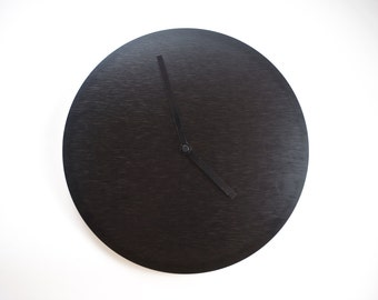 Dawn to Dusk | Reversible brushed-black and brushed-copper clock