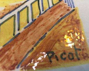 Picot Platter