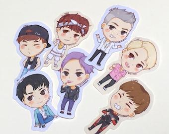 Chibi BTS Stickers