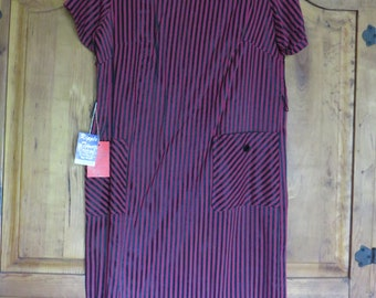 Vintage 60's Mod Shift Dress with Tags