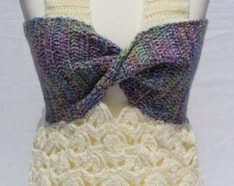 """an absolute highlight: crochet top """"big bow"""""""