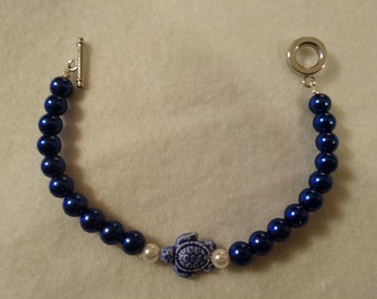 Lapis Blue with Turtle