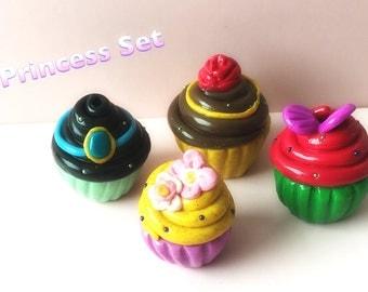 Disney Princess inspired cupcake set