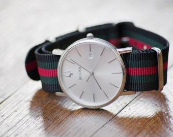 Premium Ballistic Nylon Watch Strap 20mm